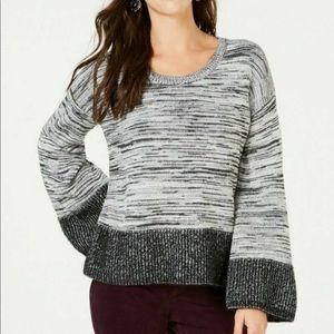 Style & Co Long Sleeve Holiday Muse Sweater Large
